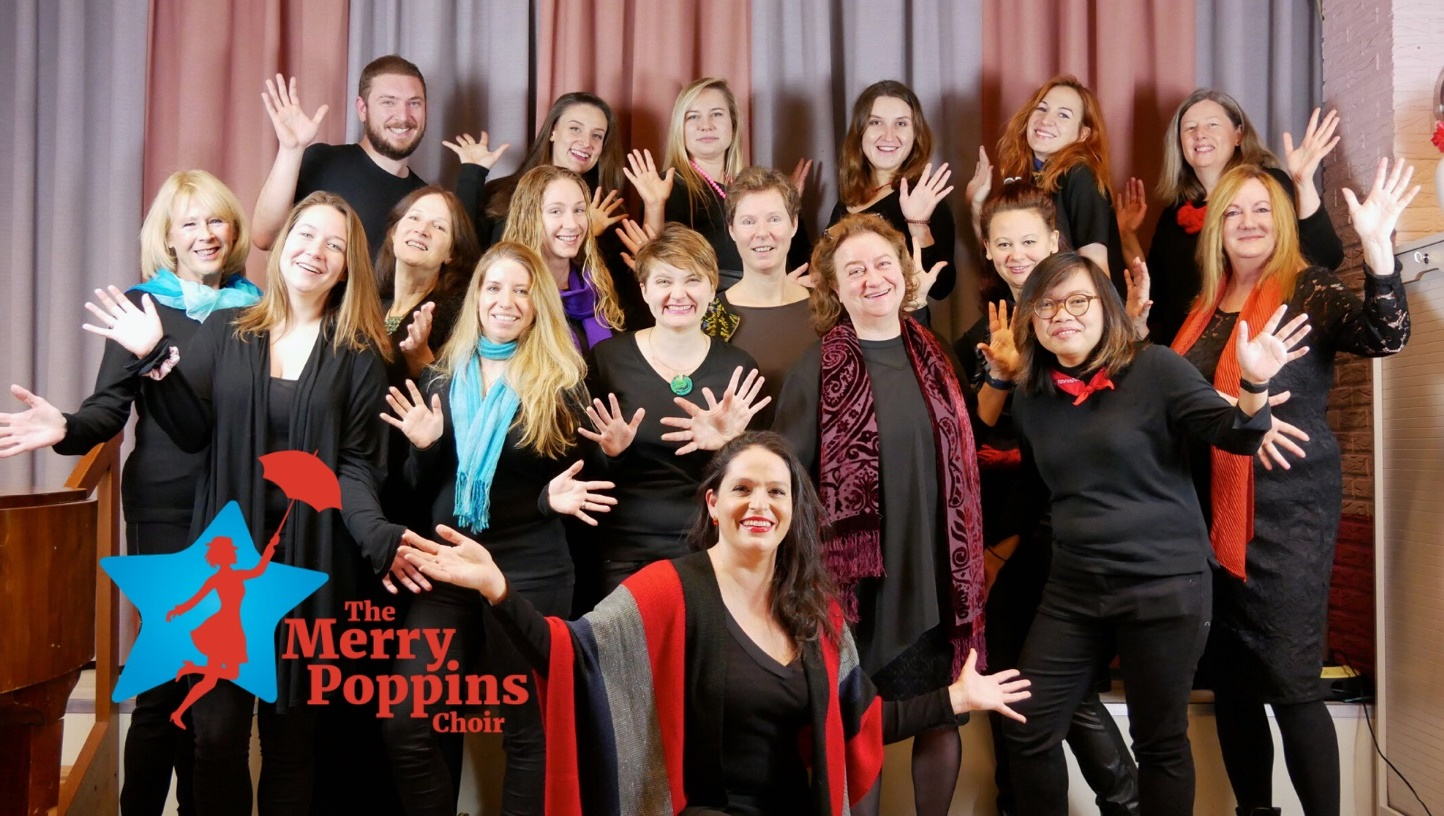 The Merry Poppins Choir in De Open Hof november 2019